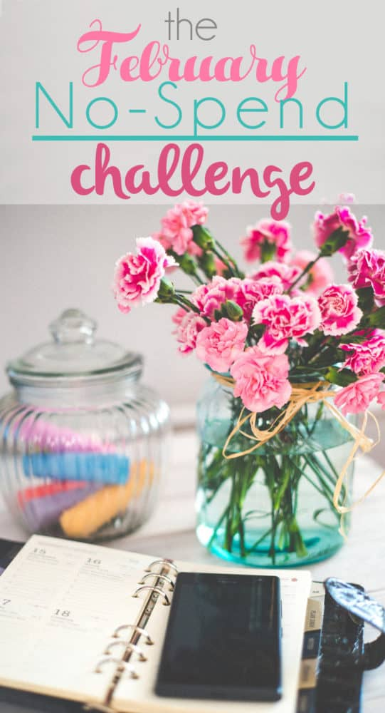 The biggest lessons I learned from the month long no spend challenge me and my readers did in February, plus my tips for making a no spend challenge easier.