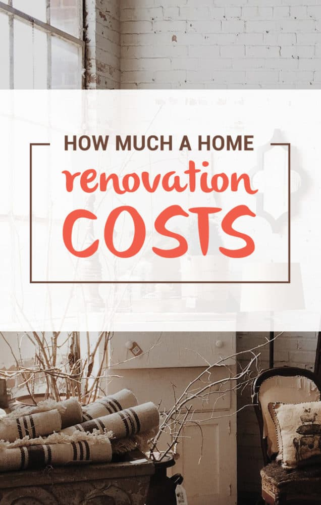 How much does a home renovation cost? The answer of course depends on many different factors, but here's what I spent renovating my 1940's home in Atlanta.