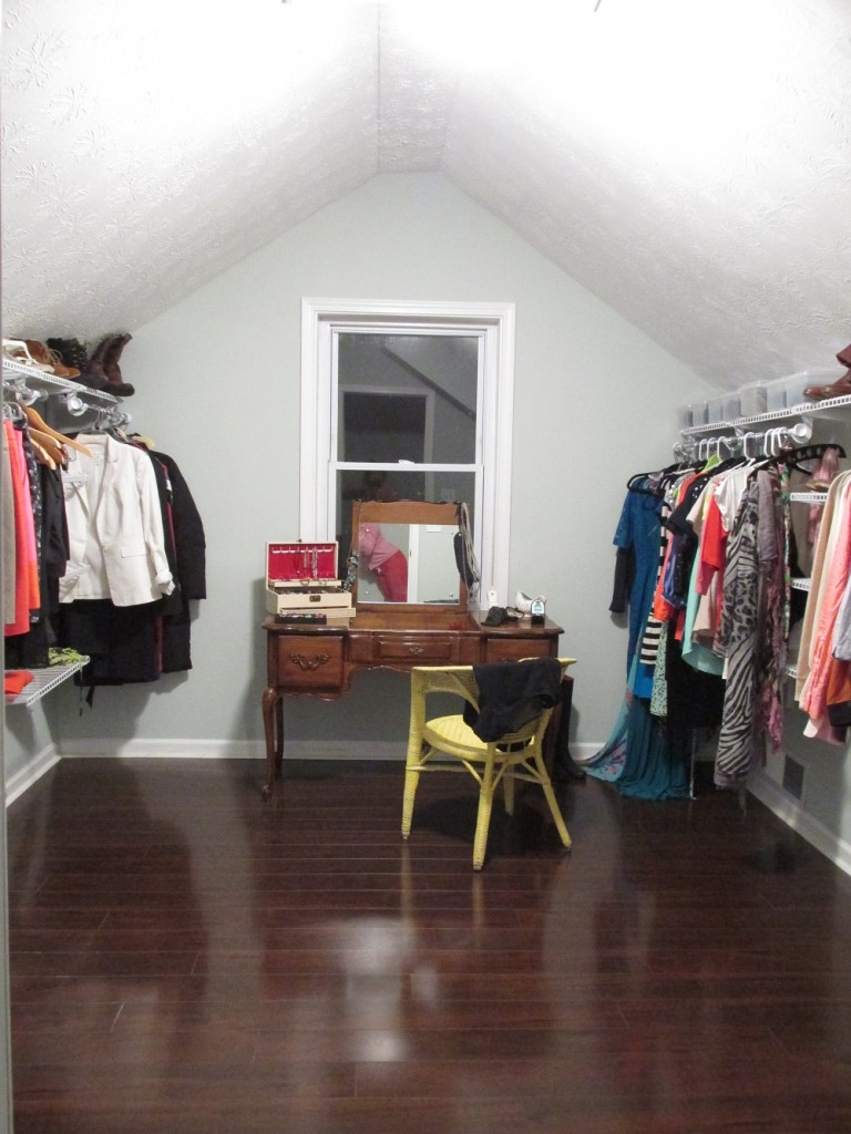 closet whole finished view