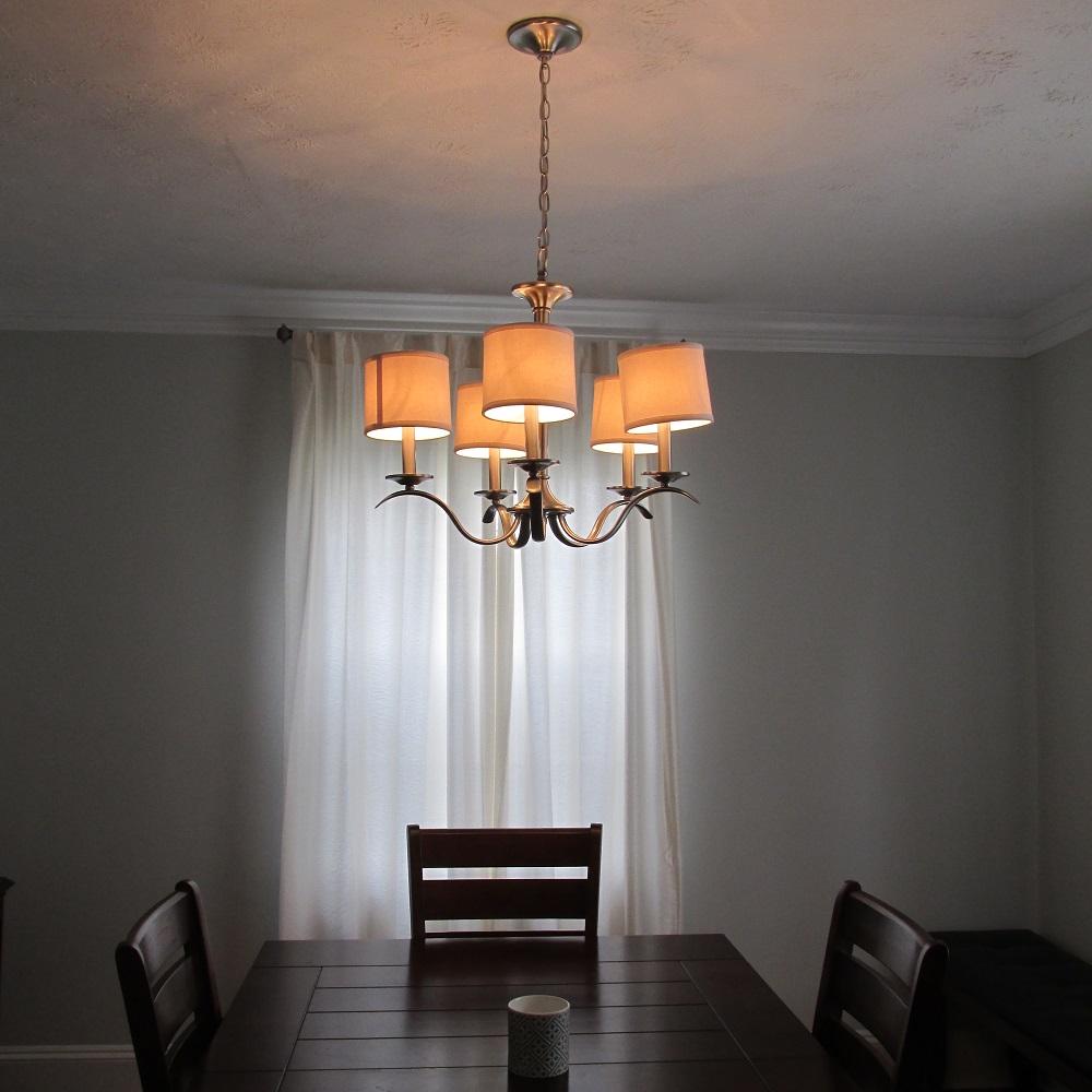 chandelier after