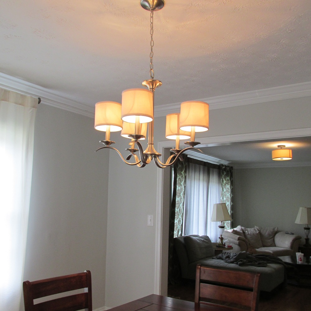 Progress Lighting Chandelier Install Reveal Financial Best Life How To Wire A Light Fixture On New Wiring Diagram Second View