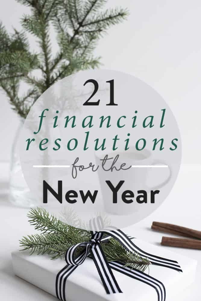10 Financial Resolutions for 2020 (With Ideas & Examples)