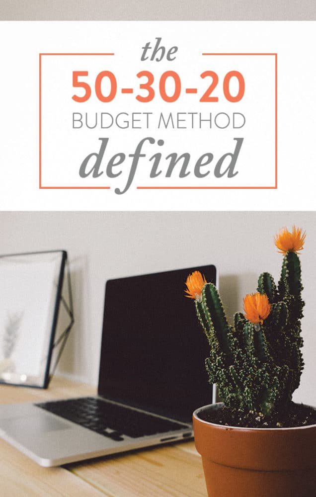 This post walks you through the 50-30-20 budget method because in our opinion, it's simply the best.