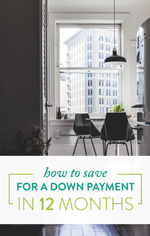 The Actual Math on How to Save For a Down Payment In 12 Months