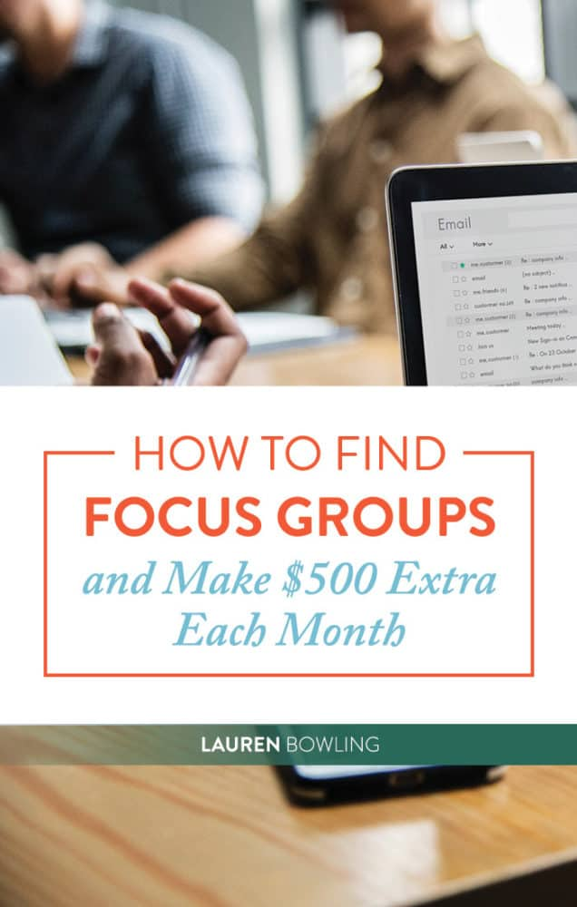 How to Find Focus Groups and Make An Extra $500 (Easy-Peasy)