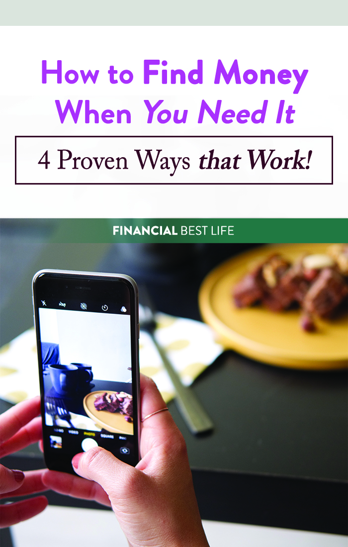 How to Find Money When You Need It (4 Proven Ways that Work!)