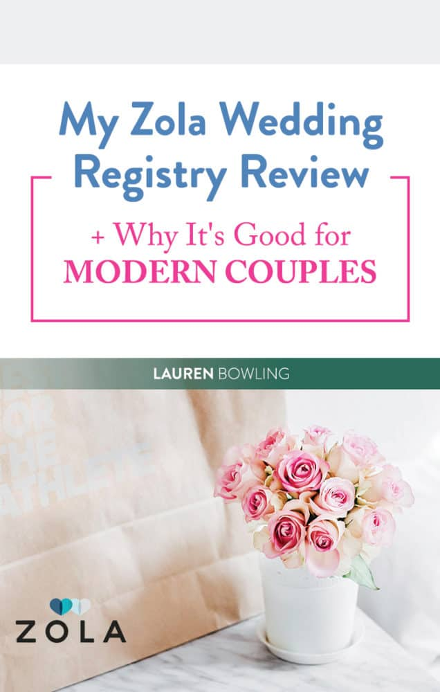 Our Zola Wedding Registry Review + Why It's Good for Modern Couples