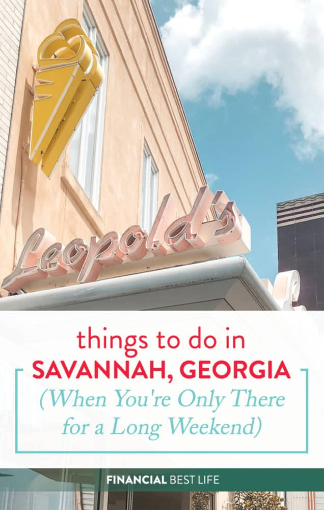 Things to Do In Savannah, Georgia (For a Long Weekend)