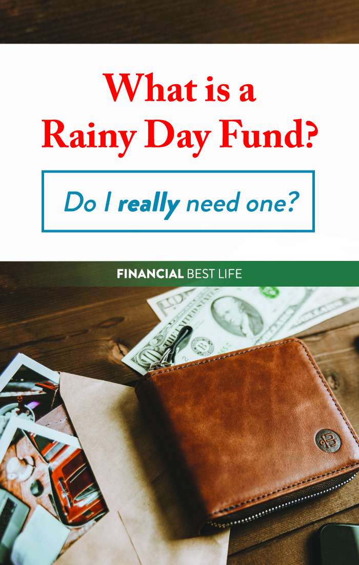 What is a rainy day fund? Do I really need one?