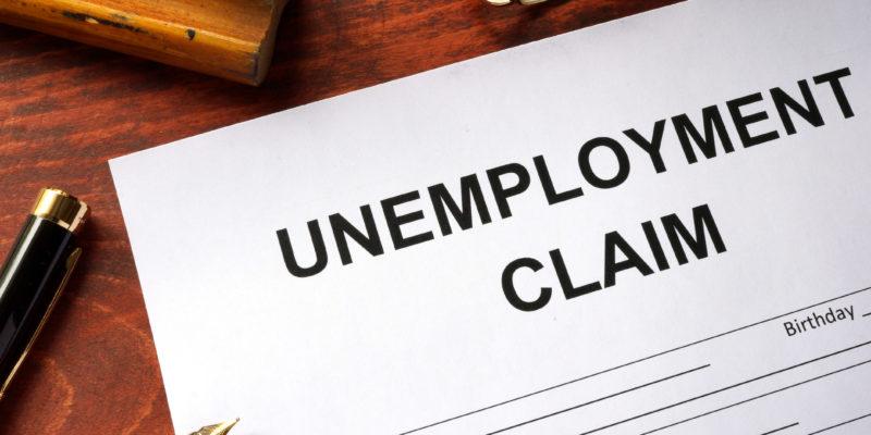 A paper says unemployment claim